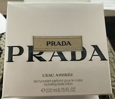 PRADA L EAU AMBREE Body Lotion 200 ML NUOVO ORIGINALE