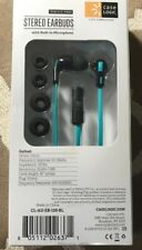 Case Logic Stereo Earbuds Blue Tangle Free