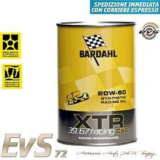 7 Litri BARDAHL XTR 39.67 Racing C60 20W-60 Olio Auto Elevata Potenza uso Pista