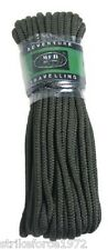 Olive Green Bundle of 15 metres Paracord  - Camping Bushcraft Survival Prepping