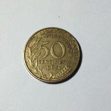 50 centimes LAGRIFFOUL 1963 col 3 plis Num16