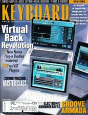 Keyboard Magazine October 2001 Virtual Rack Revolution, Chord Voicing Class