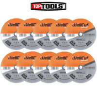 Wellcut 230mm 9 Inch Cutting Disc 1.9mm Thickness For Angle Grinder Pack of 10