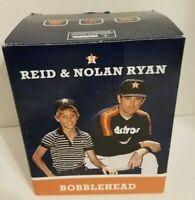 Nolan Ryan & Reid Ryan Bobblehead 2014 Houston Astros NEW IN BOX-RARE
