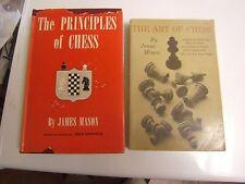 Vintage Allan Troy Chess Book--MB #3-Two books by James Mason.