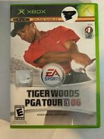 TIGER WOODS PGA TOUR 06 - XBOX - COMPLETE W/ MANUAL - FREE S/H - (T8)
