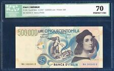ITALY 500.000 500000 LIRE PICK 118 RAFFAELLO RAPHAEL 1997 ICG 70 PERFECT UNC