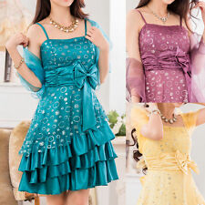 Chiffon Ballgowns Short/Mini Dresses