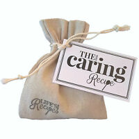 The Little Caring Recipe - Unique Gift Bag Token loss sympathy thinking of you