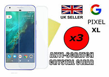 3x HQ CRYSTAL CLEAR HD SCREEN PROTECTOR COVER FILM GUARD FOR GOOGLE PIXEL XL