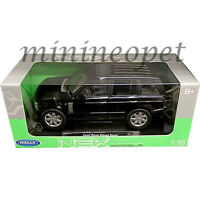 WELLY 12536 2003 LAND RANGE ROVER SUV 1/18 DIECAST MODEL CAR BLACK