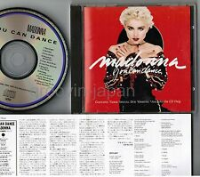 MADONNA You Can Dance JAPAN CD 22P2-2704 w/PS+INSERT 1989 2nd issue Free S&H/P&P