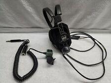 Telex Mrb 600Pilot Headphones with David Clark C10-15 Push to Talk