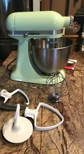 KitchenAid 3.5qt. Honeydew Mini Mixer - w / Bowl & Attachments (Free Shipping) !