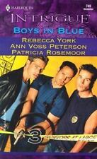 Boys in Blue (Bachelors at Large, Book 3) (Harlequin Intrigue Series #745), Rose