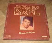 COFFRET JACQUES BREL - Ne Me Quitte Pas Box 3LP