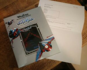VECTREX - VECTORBLADE - BOXED NEW - Grey translucent Cartridge with LED