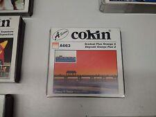 Filter Cokin A663 Gradient Neon Orange 2 a Series Gradual New