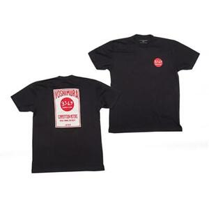 GENUINE YOSHIMURA COMPETITION CASUAL T-SHIRT BLACK