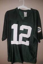 Green Bay Packers Jersey #12 Aaron Rodgers size Medium M Nfl Team Apparel