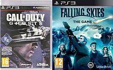 Call of Duty Ghosts & cayendo cielos Edición Limitada Nuevo Y Sellado PS3 Formato PAL