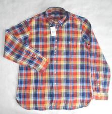 Ralph Lauren Plaid Long Sleeve Casual Shirts & Tops for Men