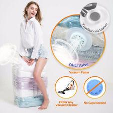 1pcs Large Space Saving Vacuum Storage Bag Clothes Bedding Organizer Under Bed