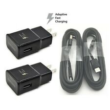 2 set 6Ft samsung s9 s10 S8 s10e wall charger type c cable galaxy S8+ note9 10
