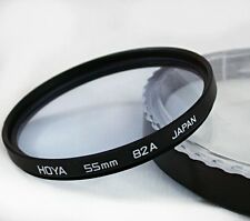 HOYA JAPAN 55mm 82A BLUE Glass Cooling~COLOR CORRECTING Metal Filter Canon~Nikon