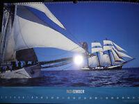 wunderschöner Wandkalender Windjammer 2010