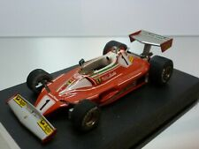 TENARIV FERRARI 312 T2 GP GERMANY 1976 - LAUDA #1 - F1 RED 1:43 - GOOD on BASE