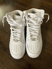 women's air force 1 high 07 white size 9