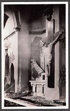 RPPC 1933 LONG BEACH LOS ANGELES CALIFORNIA EARTHQUAKE CATHOLIC CHURCH POSTCARD
