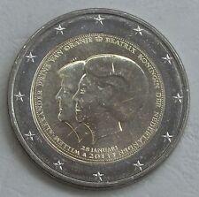 2 Euro Niederlande 2013 Thronwechsel Beatrix Willem unz.