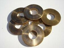 Triumph Pre War Bronze Knurled Washers 2H,3S,3SE,3H,T70,T80,5SW, 7/16 spindle