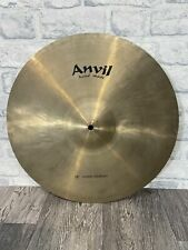 """More details for anvil handmade medium crash cymbal 18"""" cymbal drum accessory"""