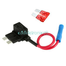12V Car Add-a-circuit Fuse TAP Adapter Standard ATM APM Auto Blade Fuse Holder A