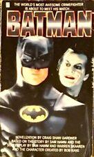 Batman Novel (1989) by Craig Shaw Gardner FREE Postage.