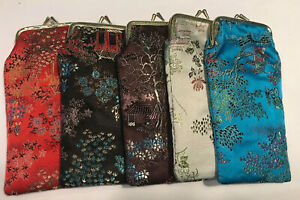 **SPECIAL OFFER** Vintage 1980's Quilted Brocade Square top glasses case