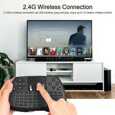 Mini 2.4Ghz Wireless Keyboard Mouse Remote Backlit For PC Android TV Box F4L1