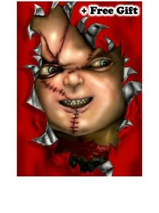 """Childs Play Chucky Poster 24"""" x 36"""""""