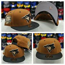 Exclusive New Era MLB Toronto Blue Jays 9Fifty snapback Hat Light Brown