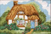 Cottage :  Anchor  Tapestry  Kit : Starter : MR921