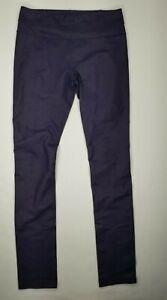 Lululemon Womens Sz 6 Slim Straight Skinny Leggings Purple Yoga Pants