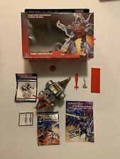 Vintage G1 Transformers Dinobot Flamethrower Slag w/Box