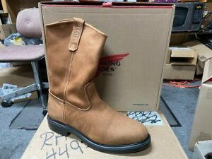 100% AUTHENTIC RED WING 1105 WORK BOOTS NEW IN BOX