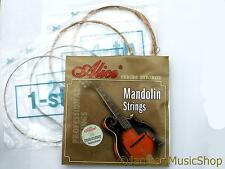 AM05 Mandolino stringa set-8 Loop fine strings-alloy ferita D G acciaio a e