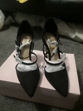 Brand New - Just Fab Csley Pumps - Black UK 8