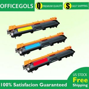 3pack TN221 TN-225 C/M/Y Toner For Brother MFC-9130CW, MFC-9330CDW, MFC-9340CDW