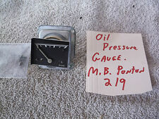 Mercedes Benz Ponton Oil Pressure Gauge OEM  Ölmanometer Öldruckmesser